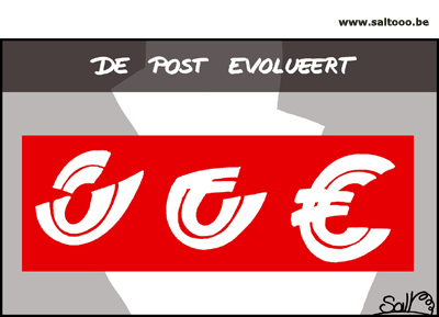 De post in evolutie