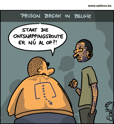 Prison break in Belgie